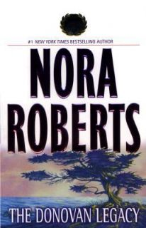 The Donovan Legacy by Nora Roberts 1999, Paperback