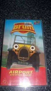 BRUM AIRPORT AND OTHER STORIES VHS VIDEO
