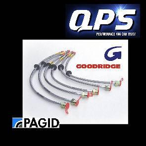 Volvo 242/244/245 Goodridge Brake Lines + DOT 4 Brake Fluid