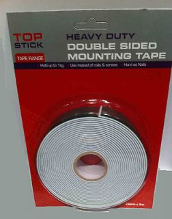 double sided tape heavy