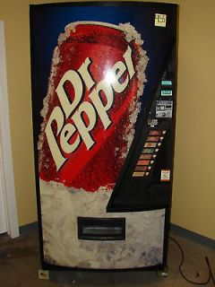 dr pepper vending machine in Collectibles