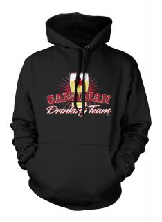 Canadian Drinking Team Sweatshirt Hoodie Funny Beer Canada Alcohol
