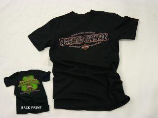 Dublin Harley Davidson Irish Pavement Erosion Mens T shirt