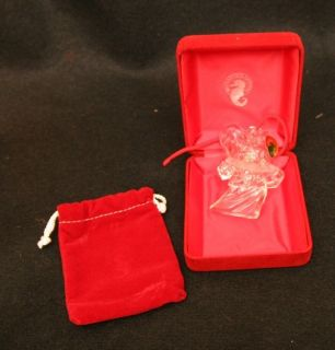 Waterford Crystal MILLENIUM ANGELS Fellowship Christmas ornament in