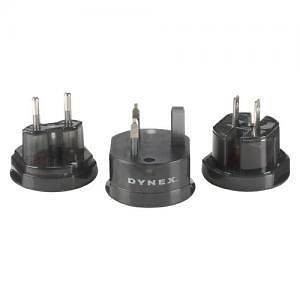Dynex International travel Adapter Use Your Electronics In Any Country