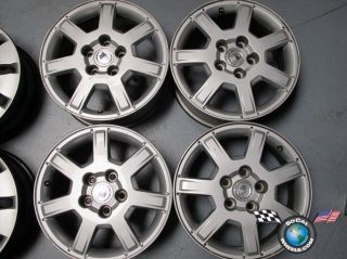 Four 05 07 Cadillac CTS Factory 16 Wheels OEM Rims 4554 9596890
