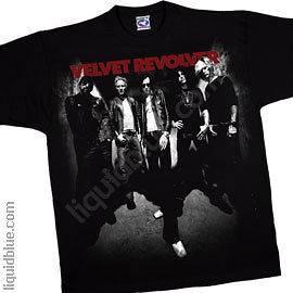 New Authentic Velvet Revolver Headspace Mens Tee Shirt