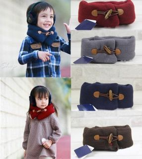 Baby Toddler Kids Children Boys Girls Neck Warmer Warm Winter Loop