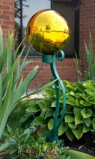 New Gazing Ball Stand Artemis for 10 & 12 Globes Beautiful Deep