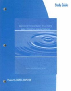Microeconomic Theory Basic Principles and Extensions by Walter