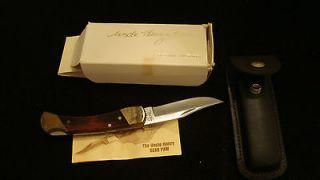 Vintage Schrade Uncle Henry LB 7 Bear Paw Lock Blade Knife NEW Old