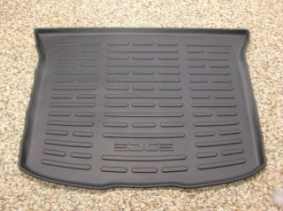 2011 2012 Edge OEM Ford Parts Black Rubber Cargo Area Protector Mat