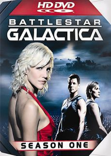 Battlestar Galactica   Season 1 HD DVD, 2007, 6 Disc Set