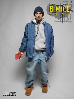 Subway Custom Eminem 1/6 Scale Detroit 8 Mile Road Action Figure