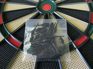 BLACK Keypoint DART TIPS for All Electronic Dart Boards 1/4 Thread