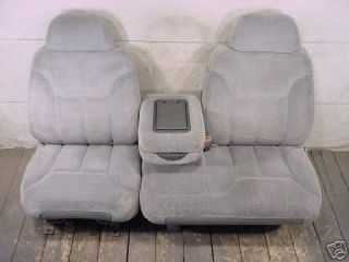 Chevy Truck 60/40 Electric Exact Seat Covers Automotive Taupe Velour