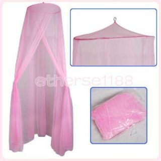 Elegant Pink Mosquito Bug Net Tent Canopy for Baby Toddler Bed Crib