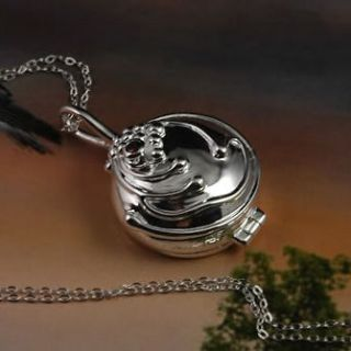 Sterling Silver Vampire Diaries Elenas Vervain Necklace+Jewelry Box