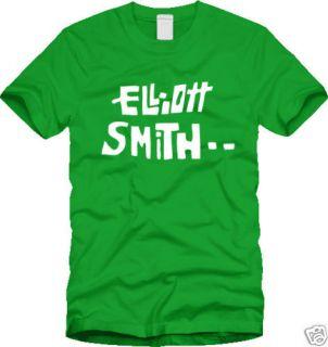 New ELLIOTT SMITH T SHIRT indie acoustic elliot S M L X