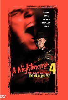 Nightmare on Elm Street 4   The Dream Master DVD, 2000