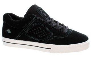 Kids Emerica Reynolds 3 Youth Black/White/Green Skate Shoes