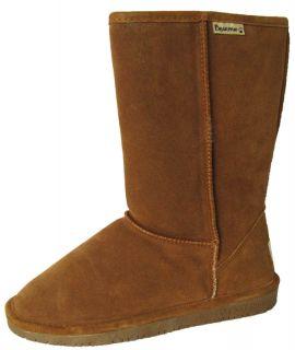 65 Bearpaw Womens Emma Short 8 Inch Boots Sheepskin