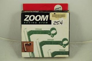 Vintage Zoom Road Racing Quill Bicycle Stem 25.4 1 Steel Ti finish