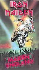 Iron Maiden   Maiden England VHS, 2001, Canadian Import