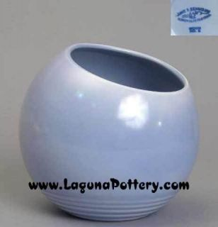 Vernon Kilns Bennison Art Pottery Blue Moon Vase