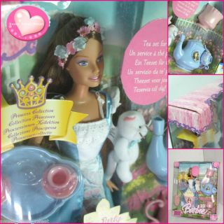 BARBIE Doll Erika Princess Pauper Tea Cups Party