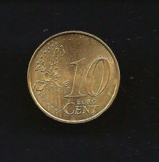 World Coins   France 10 o Cents 1999 Coin KM# 1285