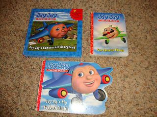 Lot of 3 Hardcover Jay Jay the Jet Plane Books   7 stories in 1 book