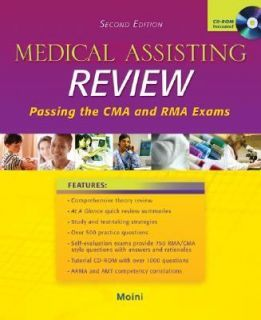 Medical Assisting Review Passing the CMA and RMA Exams by Jahangir