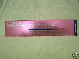 LOREAL RICHESSE DEMI HAIR COLOR SPECIAL~$3.94 U PICK~FREE SHIP IN US