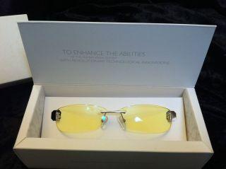 GUNNAR Stylus Computer Gaming Eye wear Glasses, Satin Chrome Frame