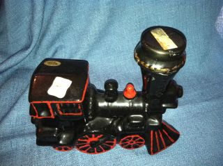 Vintage Heritage China Ezra Brooks Locomotive Train Decanter   Estate