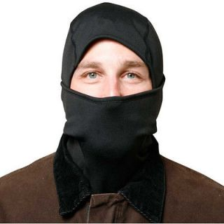 functional Tactical Hood Military Black Full Face Mask Neck Cover