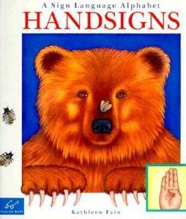 Sign Language Alphabet by Kathleen Fain 1995, Paperback