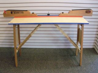 Cross Country Ski Waxing Table W/Profile  NEW 2012