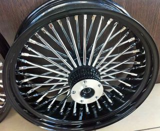 16 FRONT WHEEL BLACK 16 X 3.5 HARLEY SOFTAIL FLSTF FAT BOY FATBOY