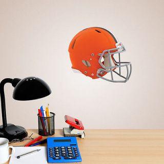 Cleveland Browns FATHEAD Helmet Logo NFL 11x9 Vinyl Wall Graphic