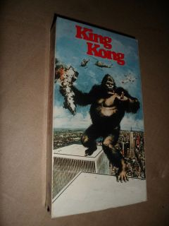 KING KONG VHS TAPE 135min ©1976 PG 0792106342 COLOR