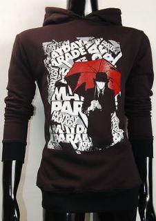 Mayday Parade Fearless Red Umbrella Alternative Rock Black Hoodie Tee