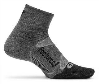 Feetures socks Elite Merino+ Light Cushion gray/black 1pair