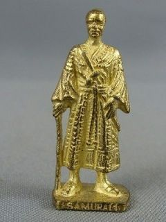 VINTAGE KINDER SURPRISE EGG JAPANESE BRASS SAMURAI WARRIOR SOLDIER