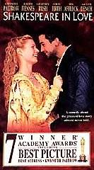 Shakespeare in Love VHS, 1999