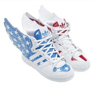 Adidas Original JS wings 2.0 Jeremy Scott America USA Flag Kids infant