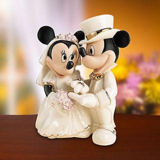 Lenox Disney Mickey & Minnies Dream Wedding Figurine
