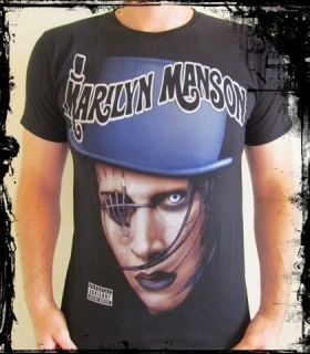 marilyn manson t shirts in Mens Clothing