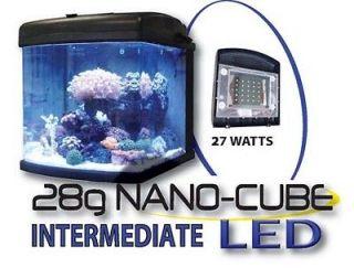 JBJ Saltwater Aquarium Fish Tank 28Gal Intermediate * ALL LED * * NEW